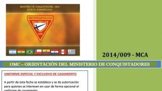 Uniforme especial y exclusivo de matrimonio – OMC