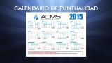 Calendario de Puntualidad APC 2015