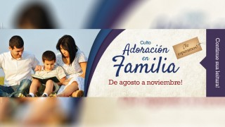 Marca Página: Adoración en Familia 2015