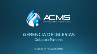 Guia de Pastores – Gerencia de Iglesias