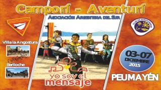 Afiche Camporí-Aventurí Peumayén 2015