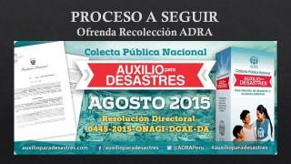 Pasos para Recolección ADRA – Perú