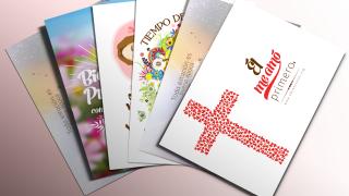 Postales y Tarjetas para imprimir – Bautismo de Primavera