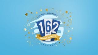 Logo oficial de los 162 Años de la Escuela Sabática