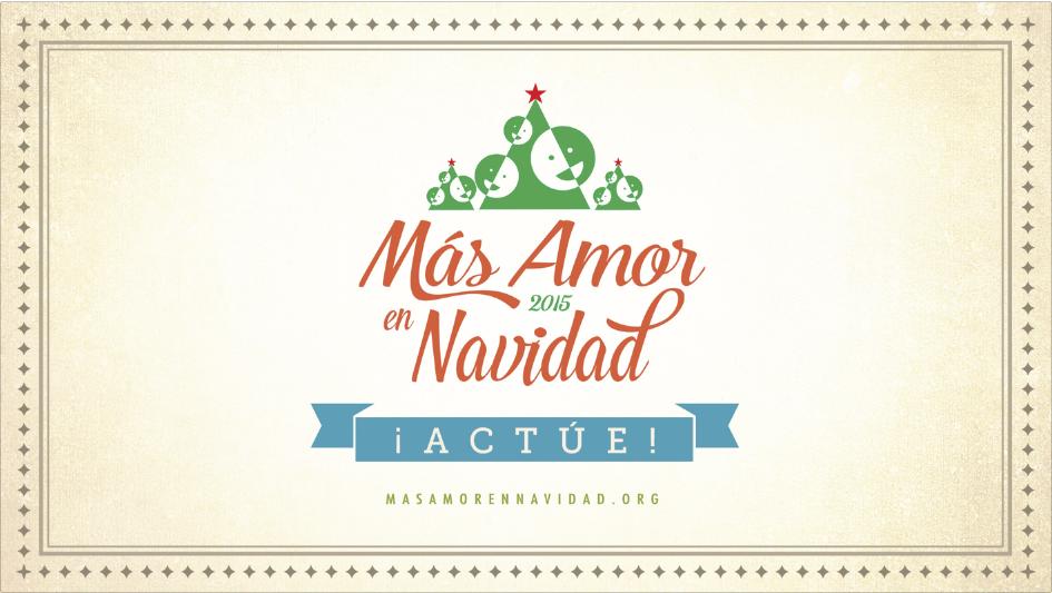 Más Amor en Navidad 2015