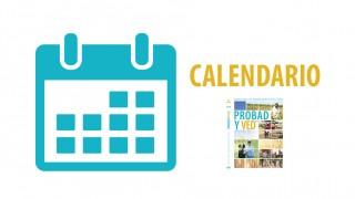 Calendario – Probad y Ved 2016