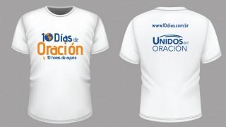 Camiseta: 10 Días de oración y 10 horas de ayuno 2016