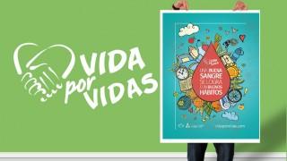 Afiche: Vida por Vidas 2016