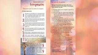 Folleto Panfleto Compasión – Semana Santa 2016