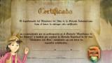 Certificado – Guardianes de los Tesoros