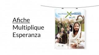 Afiche (PSD): Multiplique Esperanza 2016