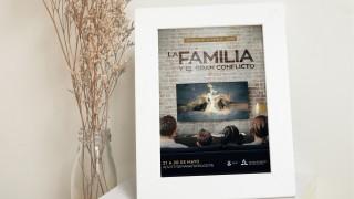 Afiche (sin fecha): La Familia y el Gran Conflicto – Semana de la Familia 2016