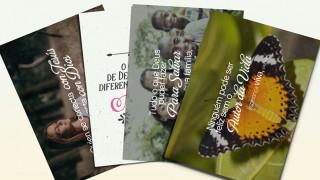 Tarjetas de capítulos del libro Esperanza Viva