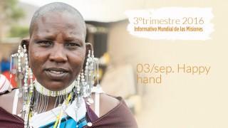 03/sep. Happy hand – Informativo Mundial de las Misiones 3ºTrim/2016