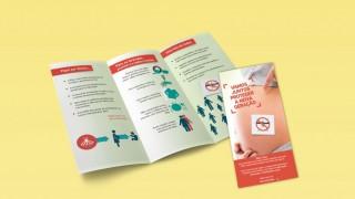 Triptico embarazadas: Fuera Zika