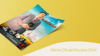 Afiche (PSD): Día del Anciano 2016