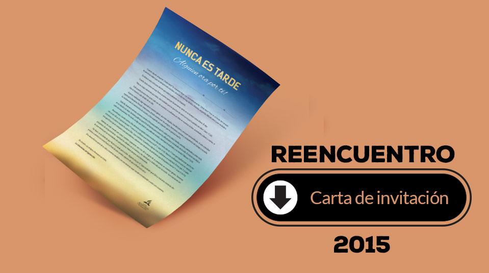 Carta De Invitación Pdf Reencuentro 2015 Materiales Y