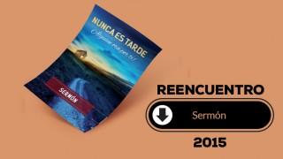 Sermón (pdf) – Reencuentro 2015