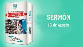 Sermón – 13 de agosto