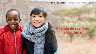12/Nov. Ofrenda de sacrificio anual, 2016 – Informativo Mundial de las Misiones 4ºTrim/2016