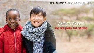 26/Nov. De tal palo tal astilla – Informativo Mundial de las Misiones 4ºTrim/2016