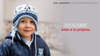 29/Oct. Ama a tu prójimo – Informativo Mundial de las Misiones 4ºTrim/2016