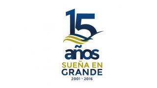 Logotipo: Sueña en Grande – 15 años