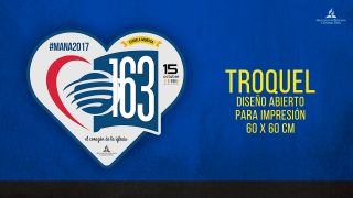 Troquel Corazón – Maná 2017