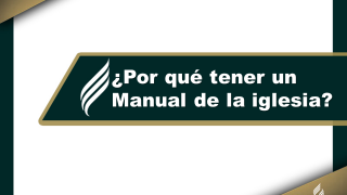 Manual de Iglesia (ppt) Capítulo 1
