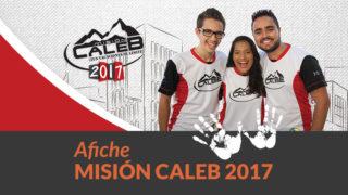 Afiche: Misión Caleb 2017