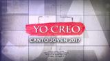 Canto Joven 2017 – Yo Creo (Cantado y Playback)