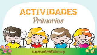 Primarios – 29 abril 2017 – Auxiliar de Escuela Sabática