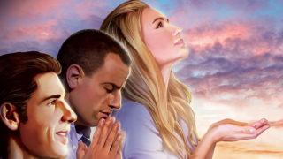 Afiche Abierto PSD – 10 días de oración 2017