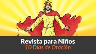 Cuaderno de texto y actividades para menores 10 días de oración 2017