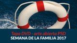 Tapa de DVD arte abierta PSD | Semana de la Familia