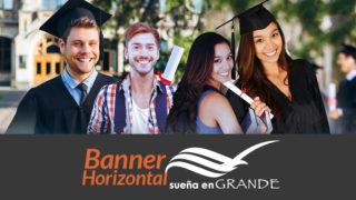 Banner horizontal: Sueña en Grande 2017/2018