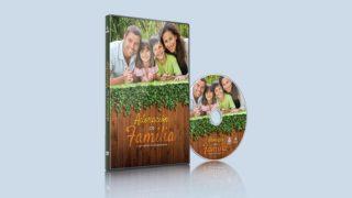 Etiqueta para DVD para imprimir y PSD | Adoración en Familia