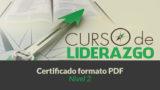 Certificado | Curso Liderazgo Adolescente nivel 2