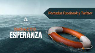 Capas p/Twitter y Facebook – Impacto Esperanza 2017