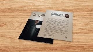 Carta: Decisiones – Reencuentro 2017
