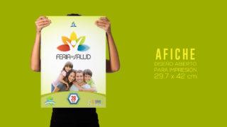 Afiche – Feria de Salud