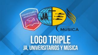 Logo Triple – JA, Universitarios y Música