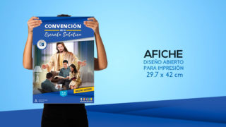 Afiche – Convención de la Escuela Sabática
