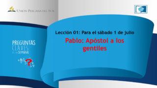 Preguntas Claves – LES 01 – 03 Trimestre – 01 de Julio 2017
