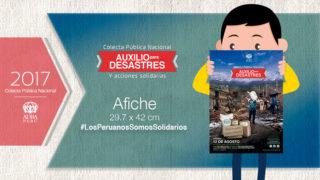 Afiche  – Colecta Pública Nacional (ADRA)