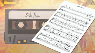 MP3 y Partitura 1: Brilla Jesús