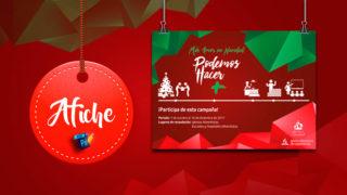 Afiche: Arte Abierto – Más amor en Navidad | 2017