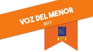 Temario Voz del menor 2017