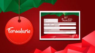 PDF y PSD del Formulario de Planificación – Más amor en Navidad | 2017