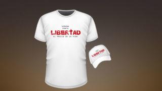 Camiseta y Gorra: Libertad – Semana Santa 2018